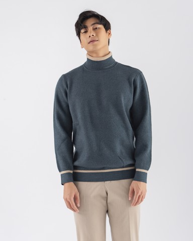 High Neck Sweaters 09237