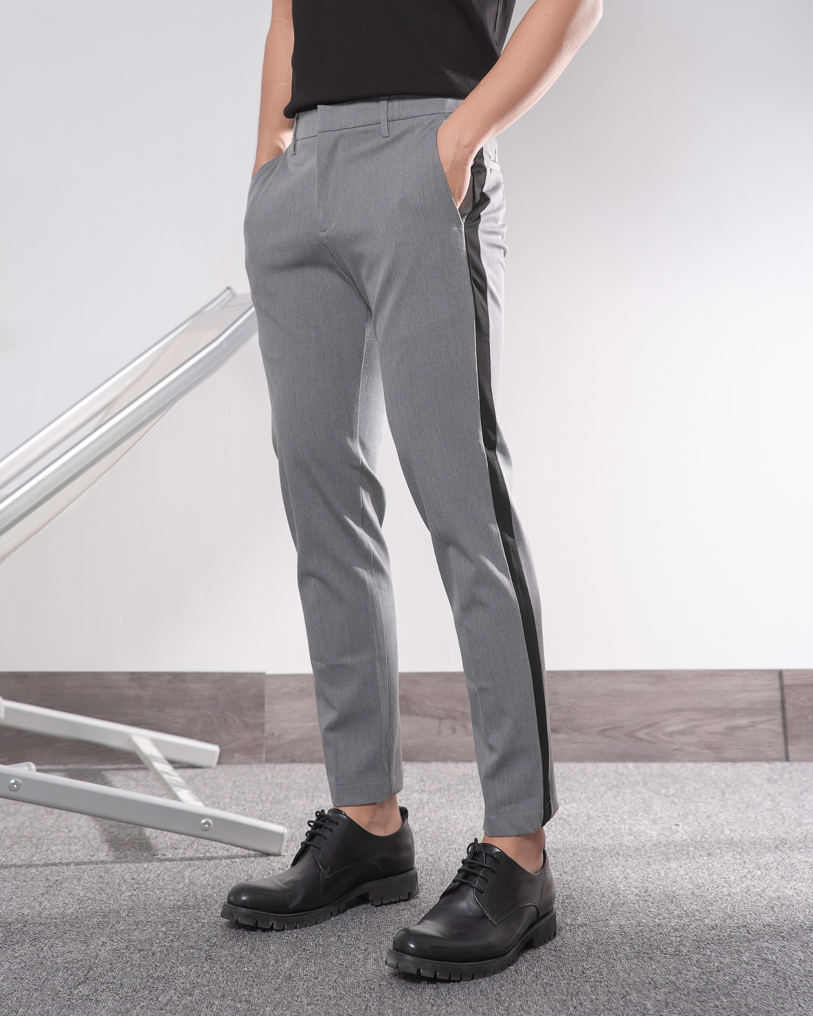 Side Stripe Pants 19097