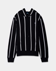 Stripe Printed Hoodies 20207
