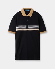 Stripe Polo Tees 21273