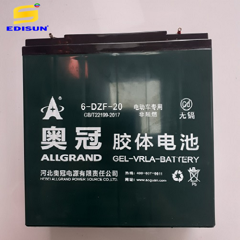 PIN LƯU TRỮ GEL BATTERY ALLGRAND 12V 20AH