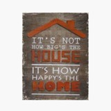 TRANH GỖ HOUSE QUOTE 01