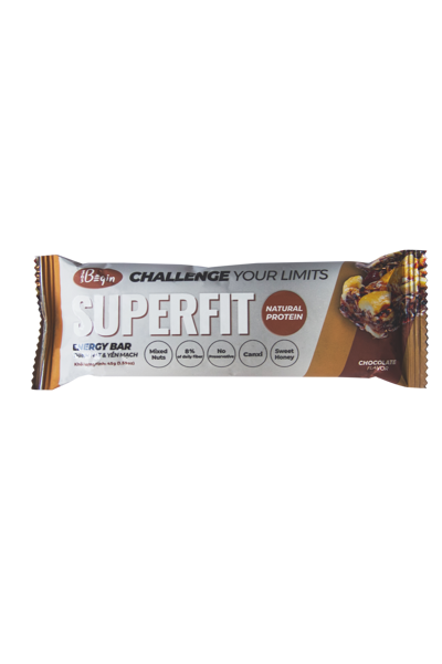 Hộp 6 thanh SUPERFIT Chocolate