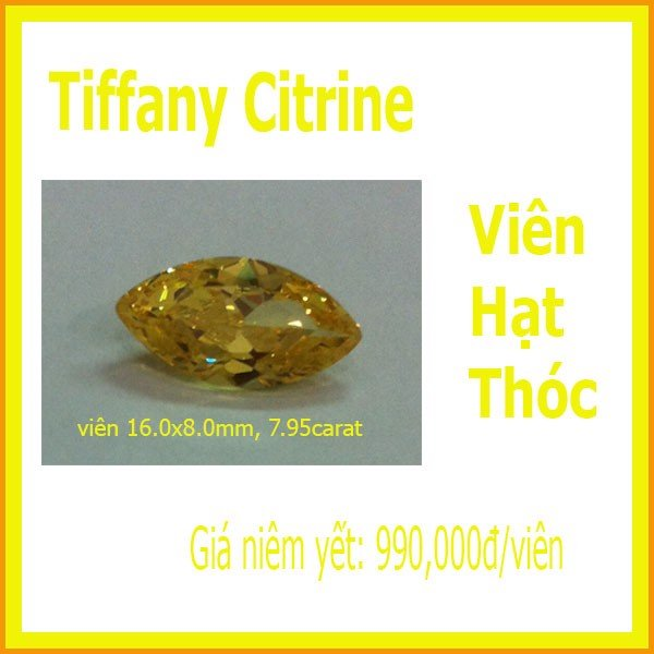 Citrine - Marquise 16x8mm