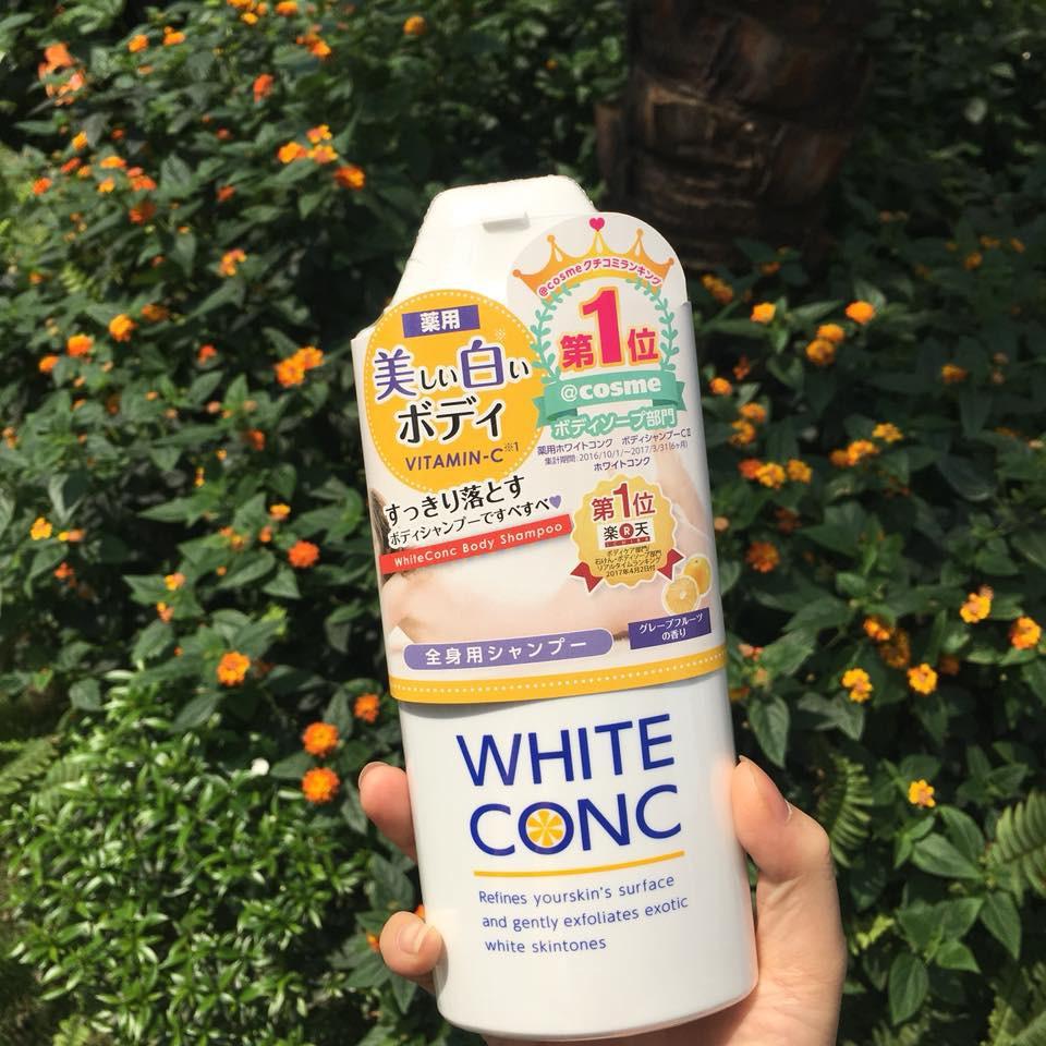 Sữa Tắm Dưỡng Da White Conc Body Nhật Bảndưỡng da trắng hồng