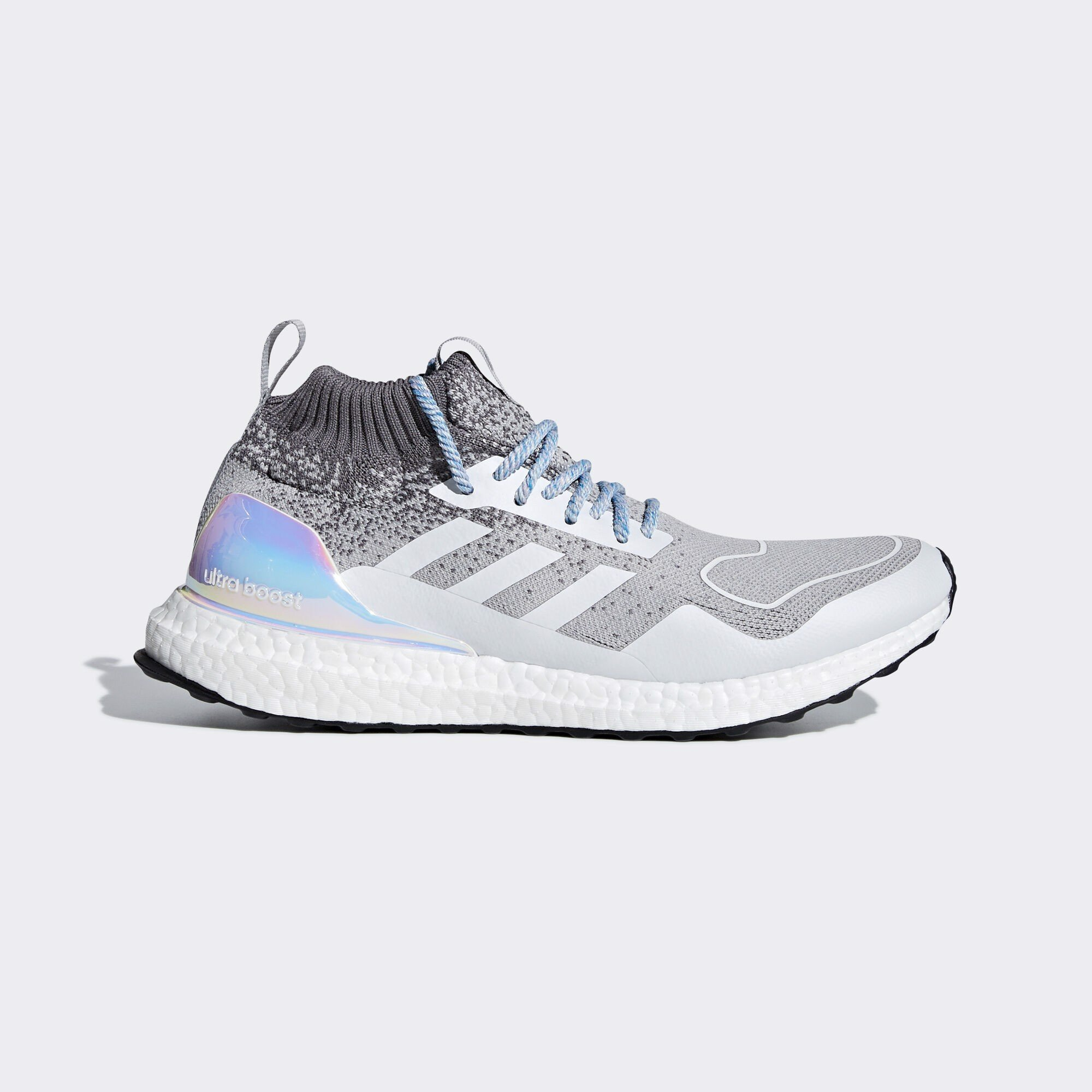 Ultraboost mid light granite