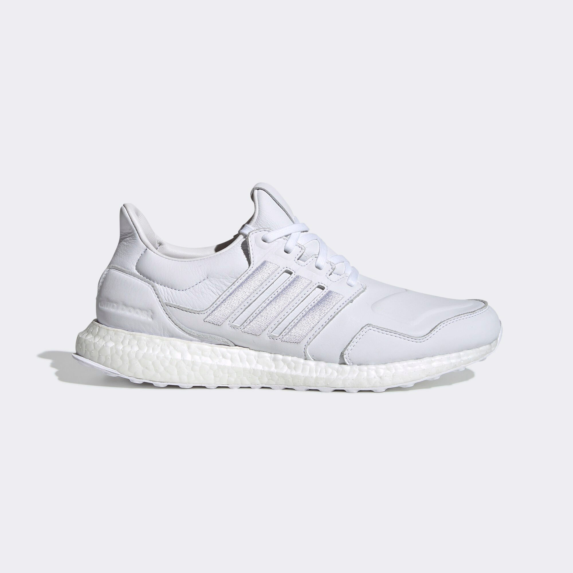 Ultraboost Leather Tripple white