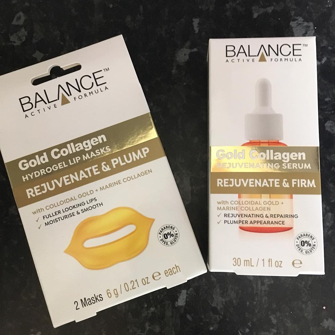Tinh Chất Sáng Da Balance Active FormulaGold Collagen Rejuvenating Serum - bici cosmetics