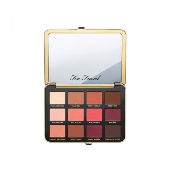Bảng Phấn Mắt Too Faced Just Peachy Velvet Mattes Eyeshadow Palette (hộp)