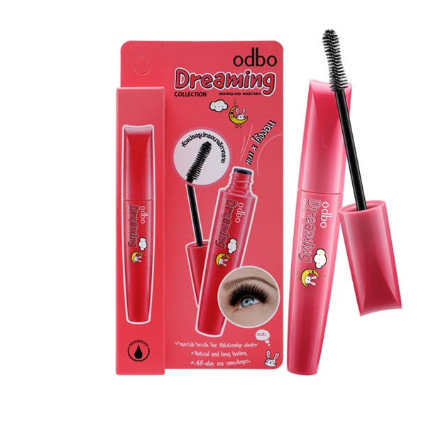Chuốt dày mi Mascara Odbo Dreaming Collection Hourglass Mascara OD907