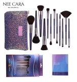 Bộ Cọ Nee Cara Golden Brush With Leather Travel Pouch 12 Piece N885