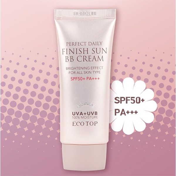 Kem Nền Chống Nắng Eco Top Perfect Daily Finish Sun BB Cream (50ml)