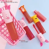 Son Tint Etude House Happy With Piglet Color In Liquid Lips Air Mousse
