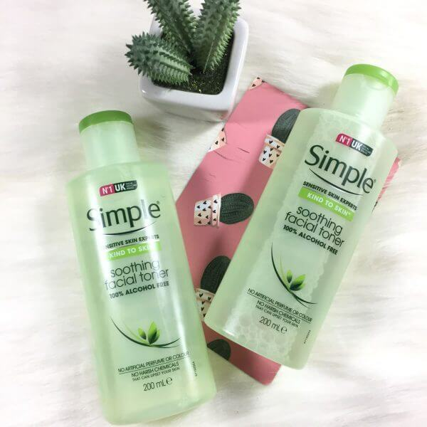 Nước hoa hồng SimpleKind To Skin Soothing Facial Toner-bicicosmetics.vn
