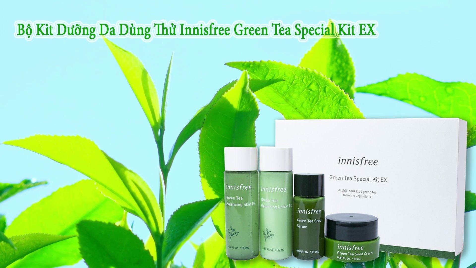 Innisfree Green Tea - Bici Cosmetics