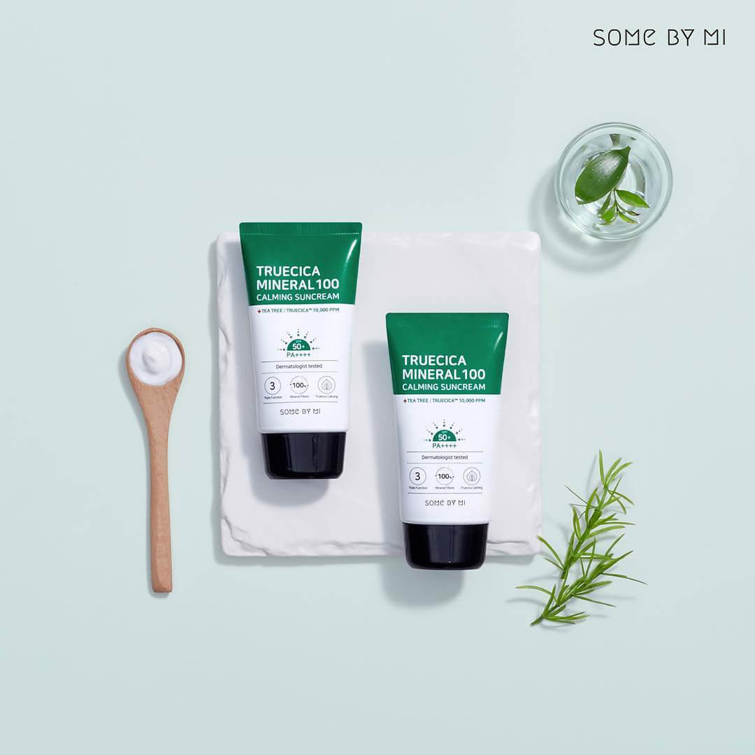 Kem Chống Nắng Some By Mi Trucica Mineral 100 Calming Suncream