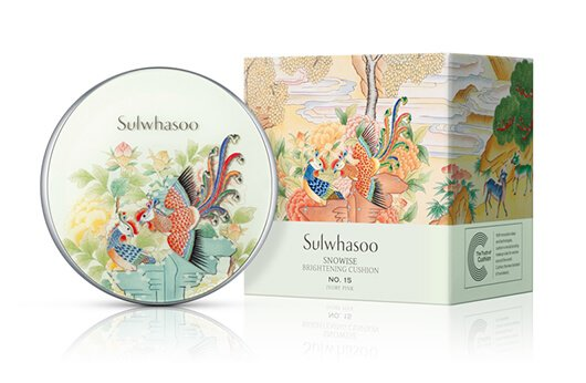 Sulwhasoo Snowise Brightening Cushion Phoenix Limited Collection - bicicosmetics.vn