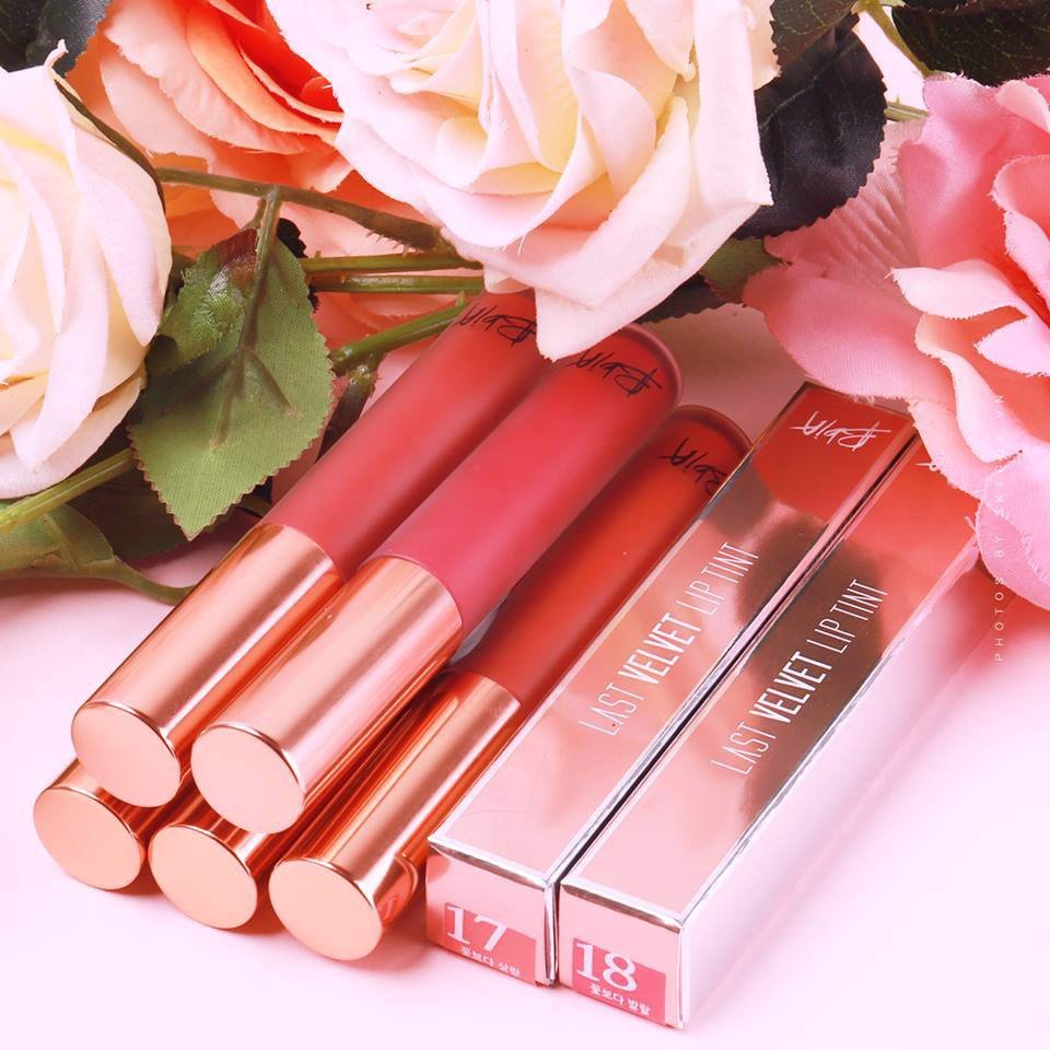 Son Bbia Last Velvet Lip Tint Version 4 (màu #4)