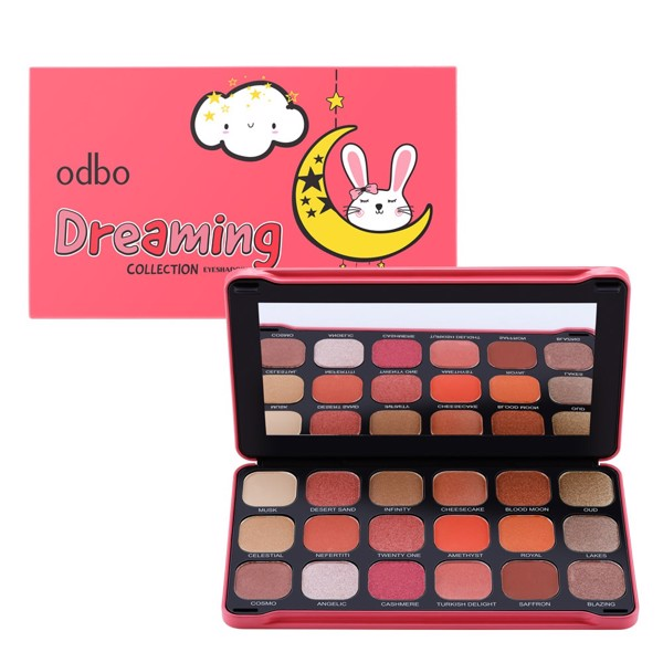 Phấn Mắt Odbo Dreaming Collection Eyeshadow OD224