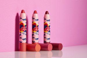 Son 3CE Maison Kitsune Velvet Lip Crayon 1
