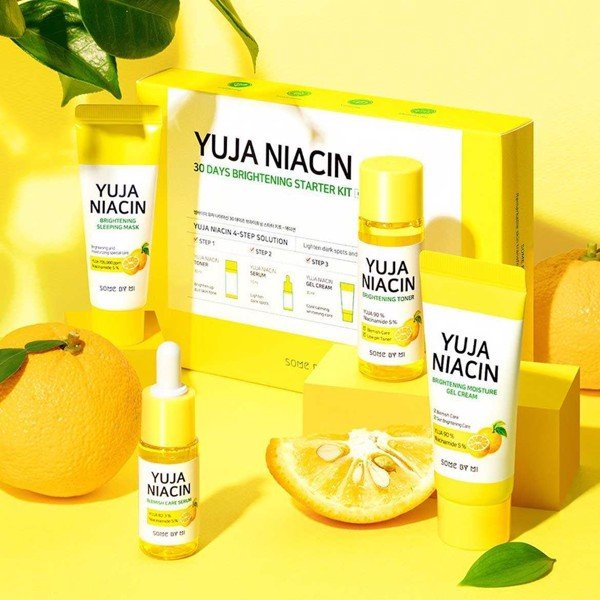 Set Dưỡng Trắng Some By Mi Yuja Niacin 30Days Brightening Started Kit 4 món