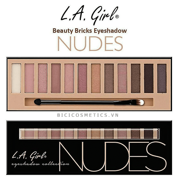 Màu Mắt Nudes La Girl Eyeshadow Collection