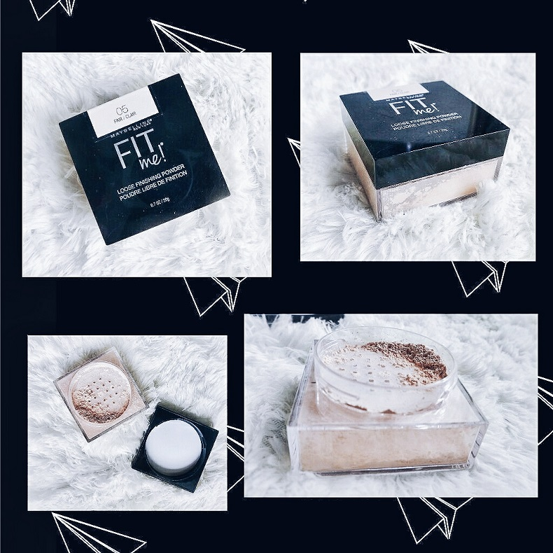 Phấn phủ kiềm dầu Maybelline Fit Me Loose Finishing Powder - bici cosmetics