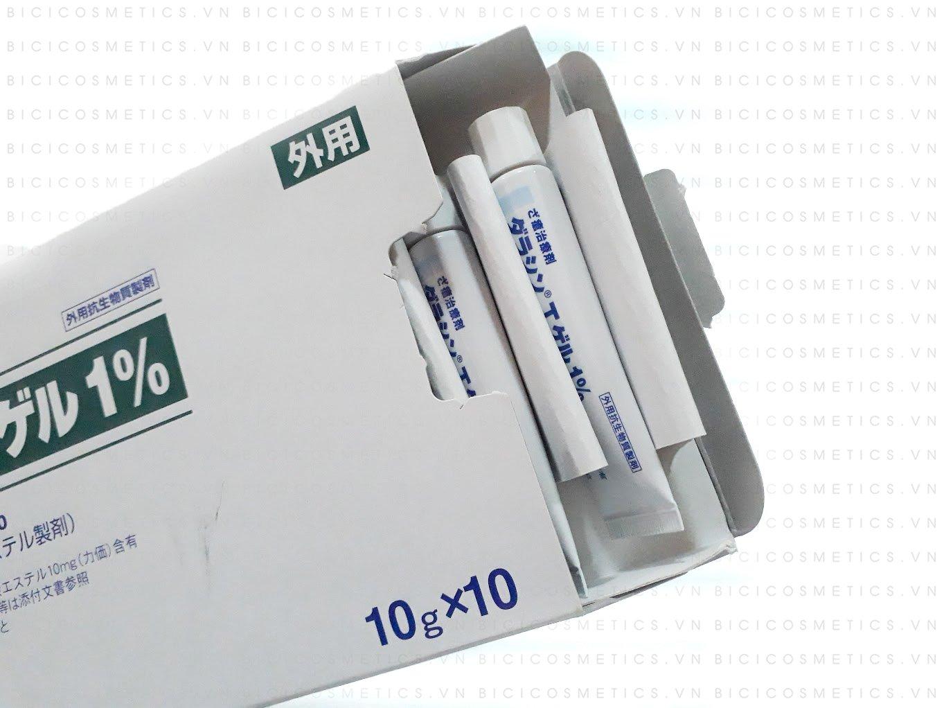 Kem trị mụn thần thánh Dalacin T Gel 1% là sự đột phá và cải tiến hoàn toàn mới của Nhật Bản- Bici Cosmetics