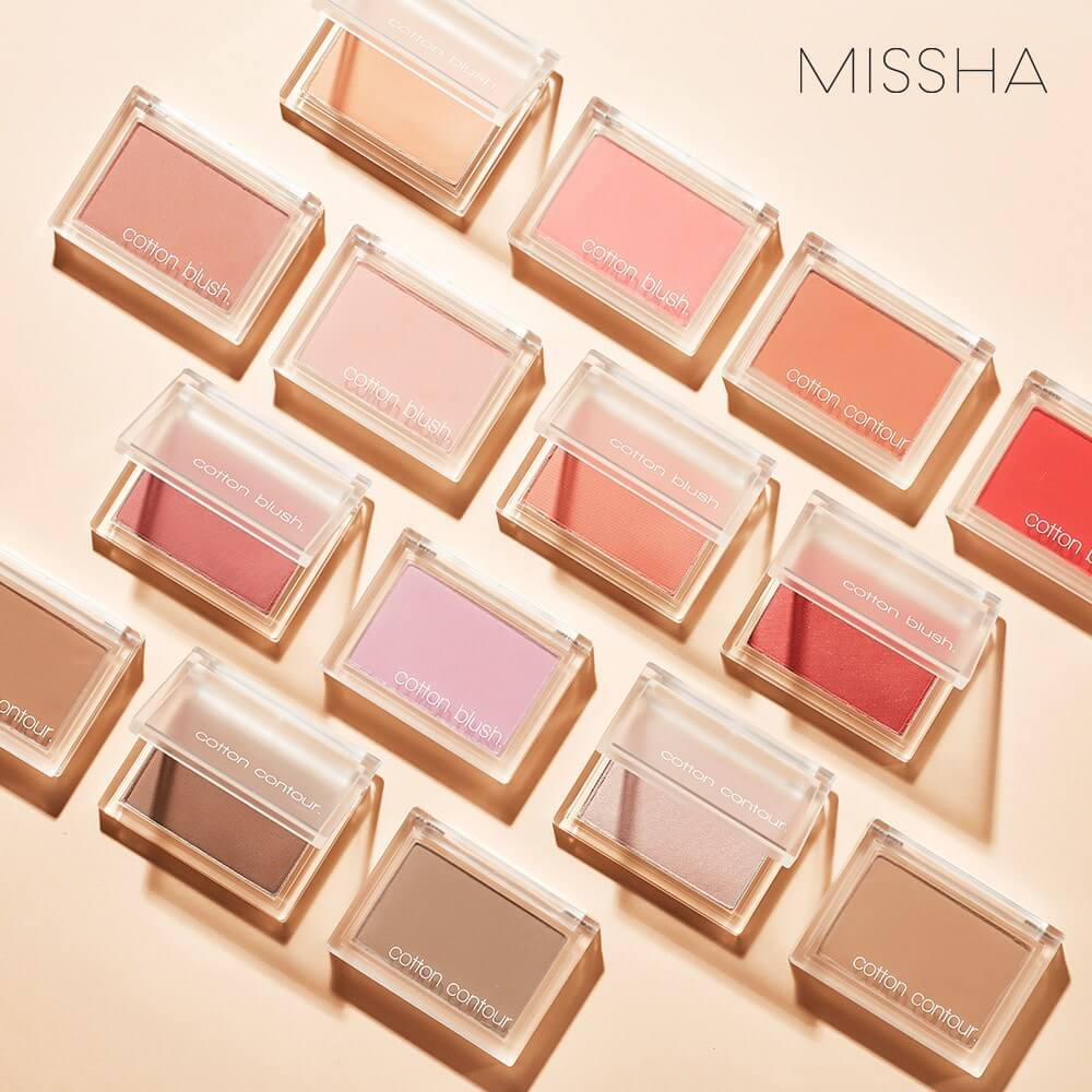 Missha Cotton Blush - Bici Cosmetics