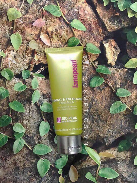 Tẩy Tế Bào Chết Lanopearl Bio Peak Refining & Exfoliating Facial Scrub -bicicosmetics