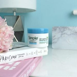 Simple Water Boost Skin Quench Sleeping Cream- Bici Cosmetics