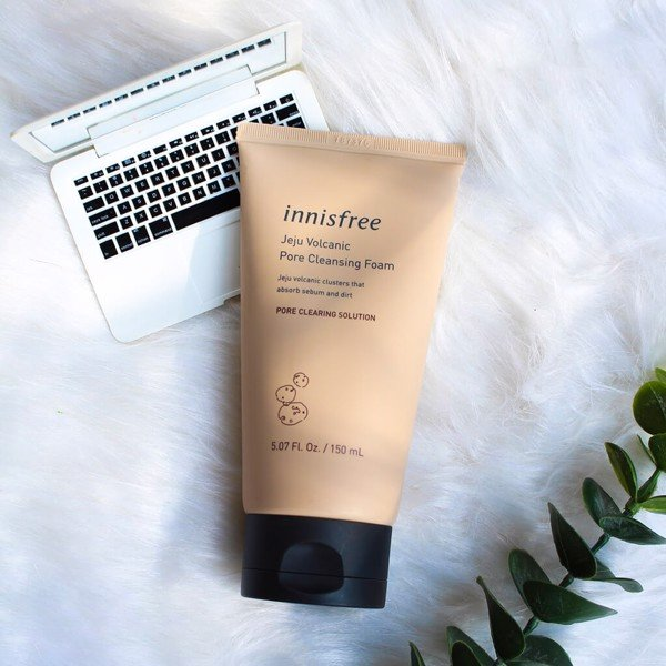 [NEW UPDATE 2019] Sữa Rửa Mặt Innisfree Jeju Volcanic Pore Cleansing Foam EX