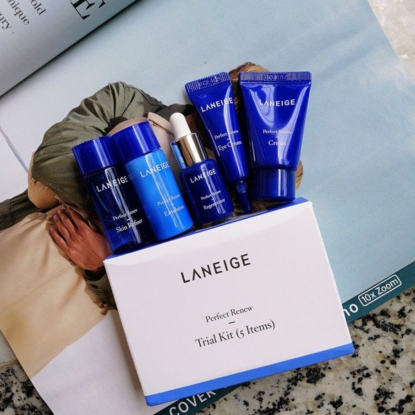 Bộ kit dưỡng da Laneige Perfect Renew Trial Kit 5 items