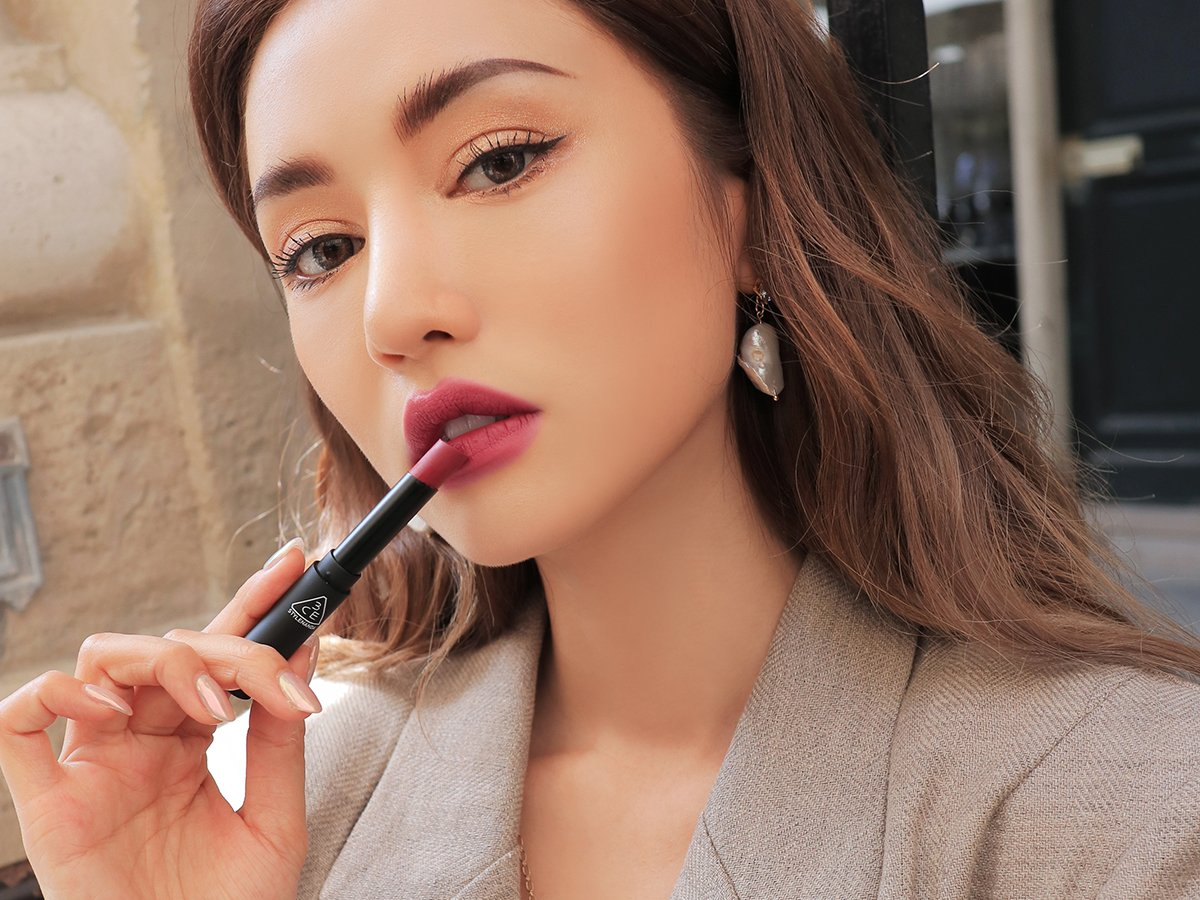 3CE SLIM VELVET LIP COLOR2 GO GET IT Bici Cosmetics