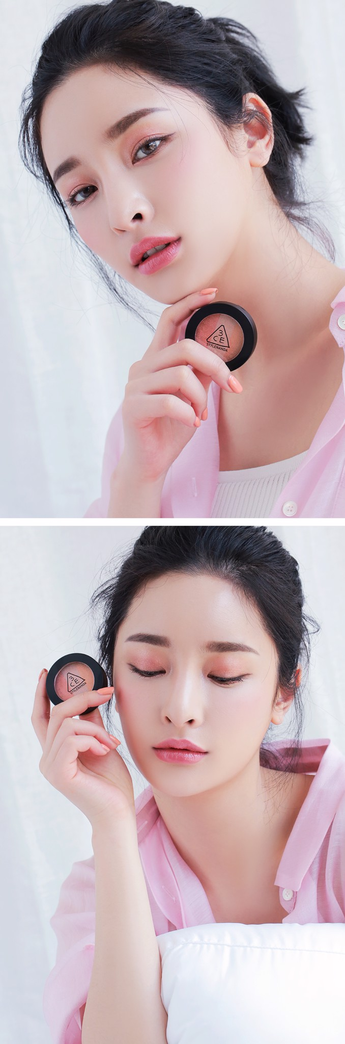Phấn mắt 3CE Triple Shadow- Body to Body- Bici Cosmetics