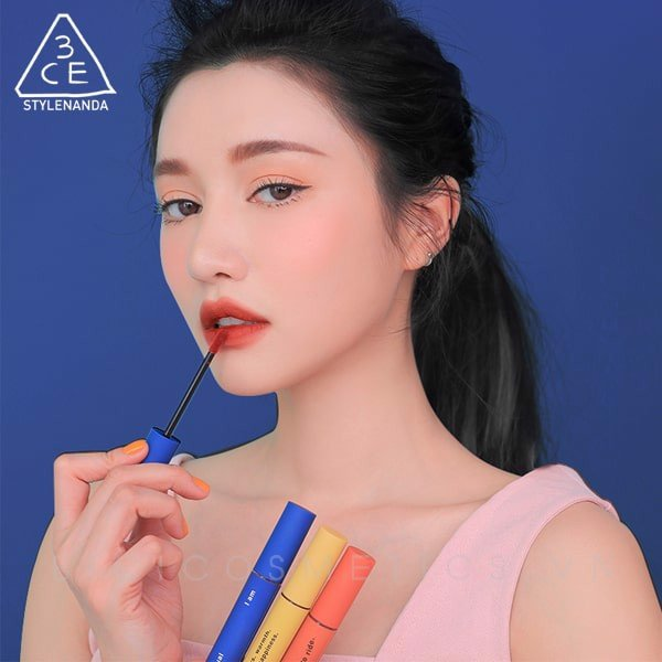 [COMING SOON] Son Kem Lì 3ce Velvet Lip Tint Neo-Retrolism Edition Phiên Bản Classic Blue