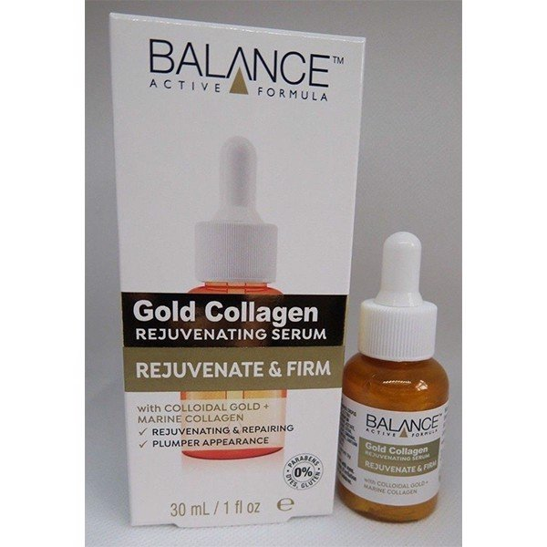 Tinh Chất Sáng Da Balance Active Formula-Gold Collagen Rejuvenating Serum (30ml)