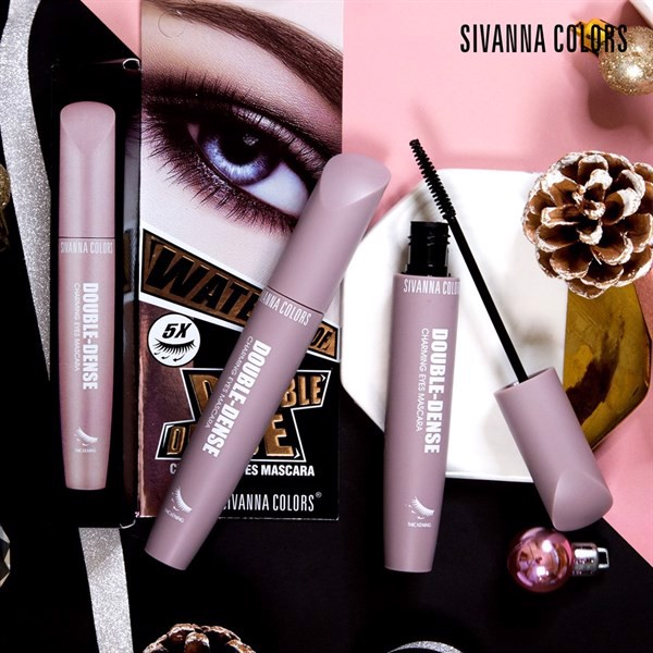 Chuốt Mi Mascara Sivanna Colors Double-Dense Charming Eyes HF913