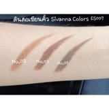 Chì Mày Sivanna Colors Story Eyebrow Pencil ES007