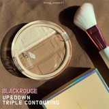 Phấn Highlight Và Tạo Khối Black Rouge Up And Down Triple Contouring