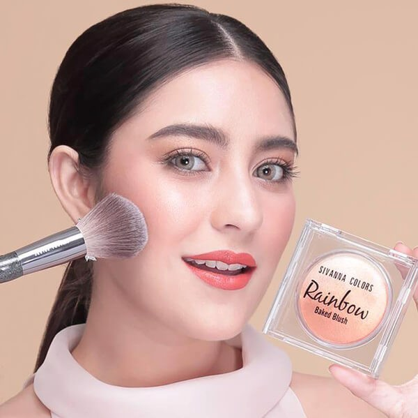 Phấn Má Hồng Sivanna Colors Rainbow Baked Blush HF370
