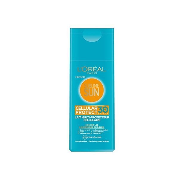 Kem Chống Nắng Body L'oreal Sublime Sun Cellular Protect Fps 30+ (200ml)