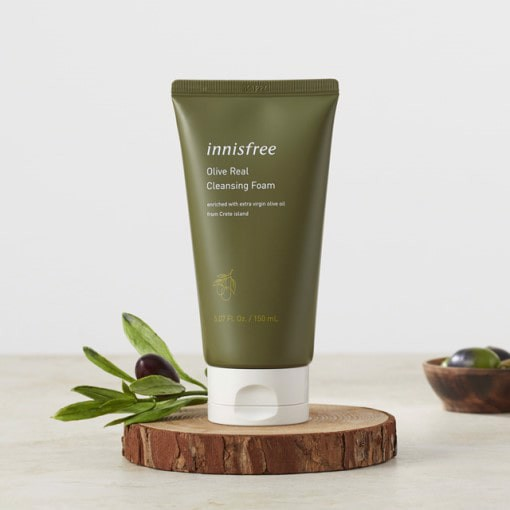 [NEW UPDATE 2019] Sữa Rửa Mặt Innisfree Olive Real Cleansing Foam