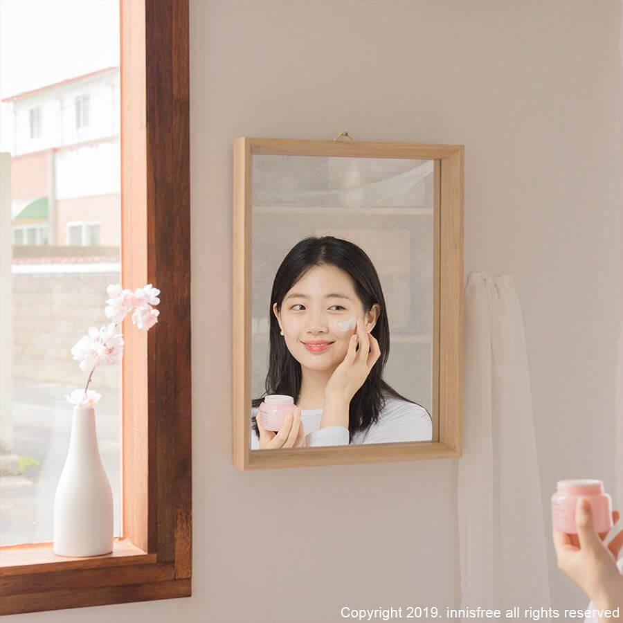 Innisfree Jeju Cherry Blossom Tone Up Cream - Bici Cosmetics