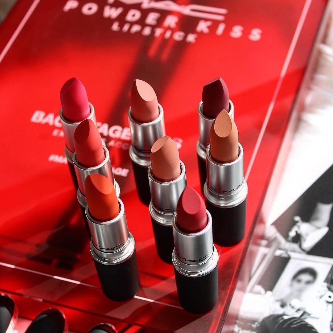 MAC Powder Kiss Lipstick - Bici Cosmetics