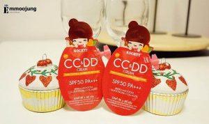 Thành phần kem chống nắng Kociety CC&DD Cream
