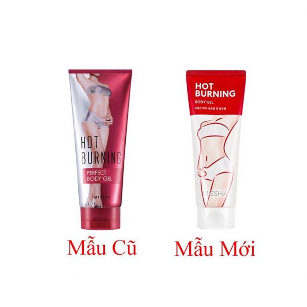 Gel Tan Mỡ Missha Hot Burning Perfect Body Gel 200ml