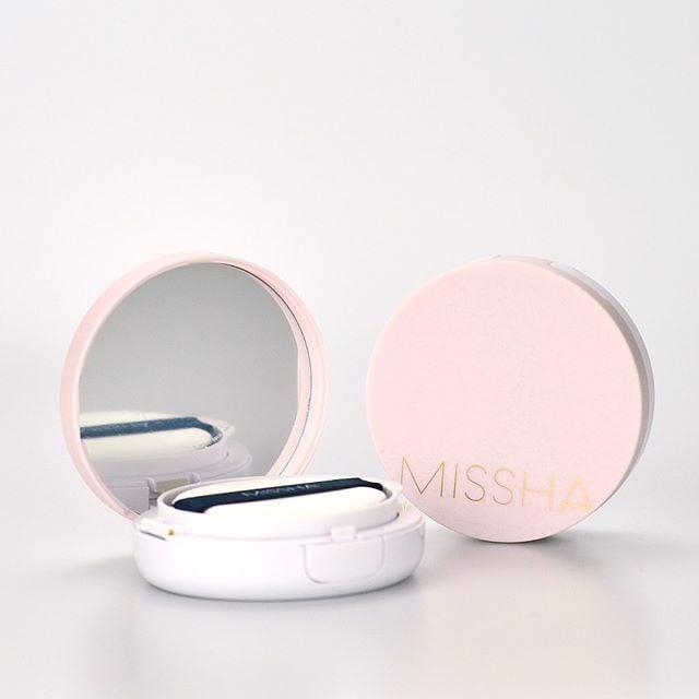Kết quả hình ảnh cho Cushion Missha Magic Cushion Cover Lasting N23