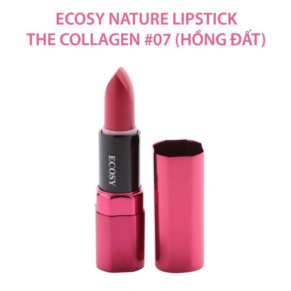 Son Lì Không Chì Ecosy Nature Lipstick The Collagen