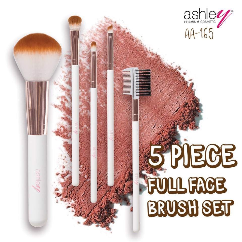 Bộ Cọ Ashley 5 Piece Full Face Brush Set AA165